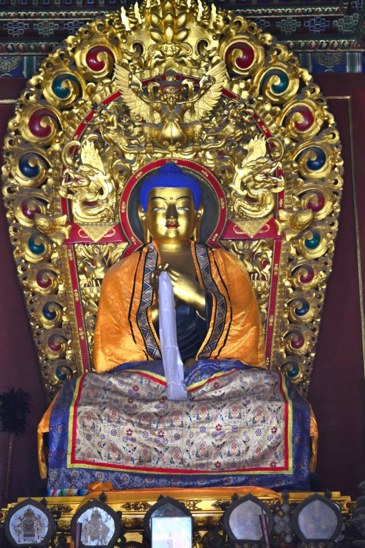 Gefüllter Buddha: Nein, das ist nichts zum Essen! Vielmehr handelt es sich hier um einen der ältesten Bräuche des Buddhismus.